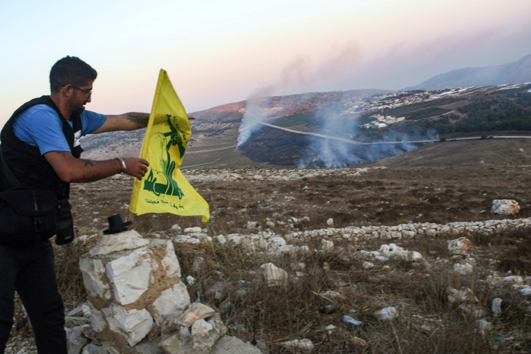 Lebanons Hezbollah says downs Israeli drone