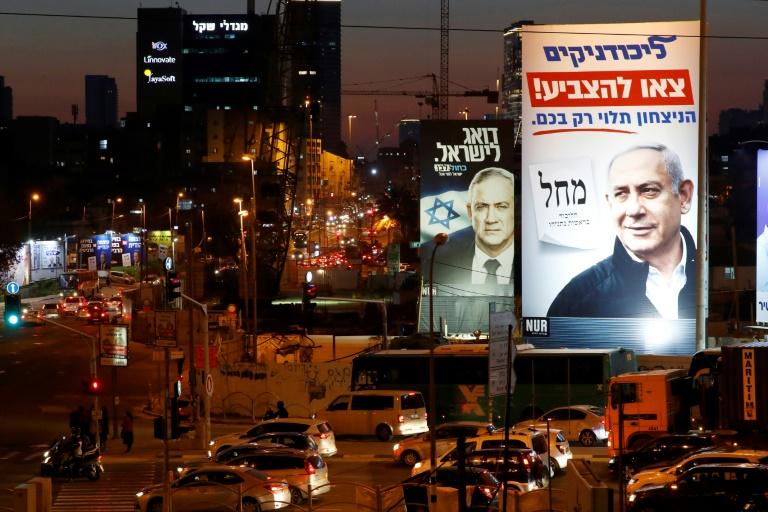 Netanyahu, Gantz neck and neck as campaign reaches climax