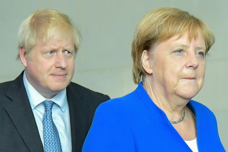 UKs Johnson to hold Brexit talks with Macron after Merkel offers glimmer of hope