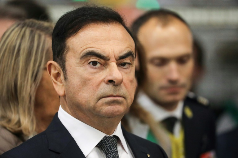 Bailed tycoon Ghosn escapes to Lebanon from rigged Japan