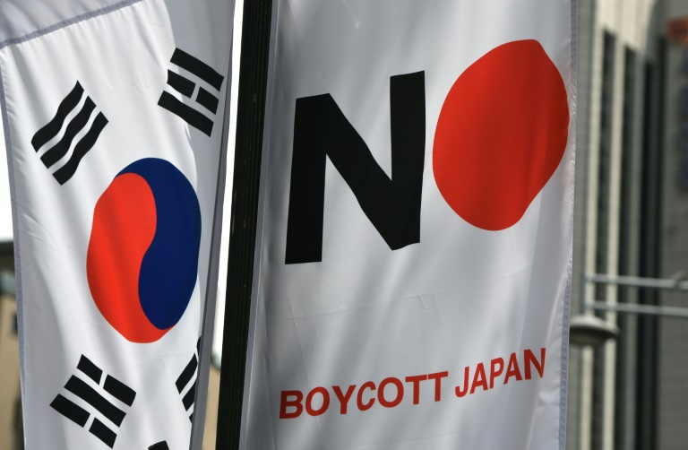 South Korea drops Japan from white list in trade row