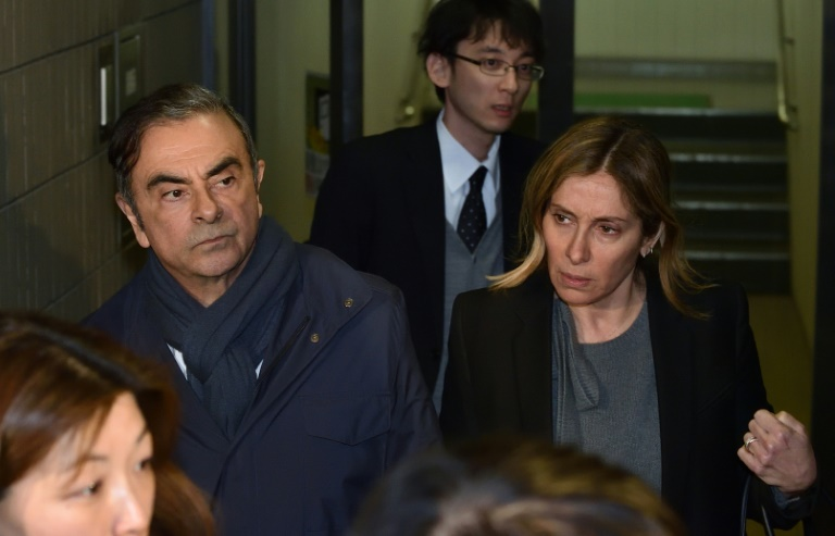 Carole Ghosn: wife of fugitive tycoon, and now wanted in Japan