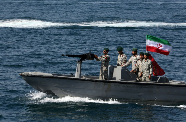 Iran Guards say they have seized a foreign tanker