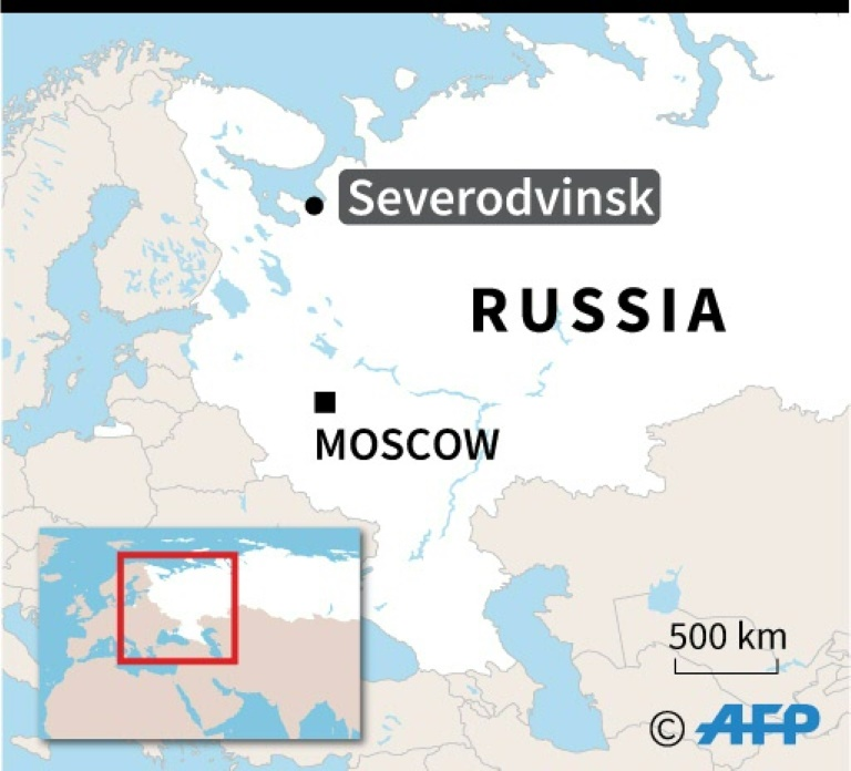 Russia says five died in missile test explosion