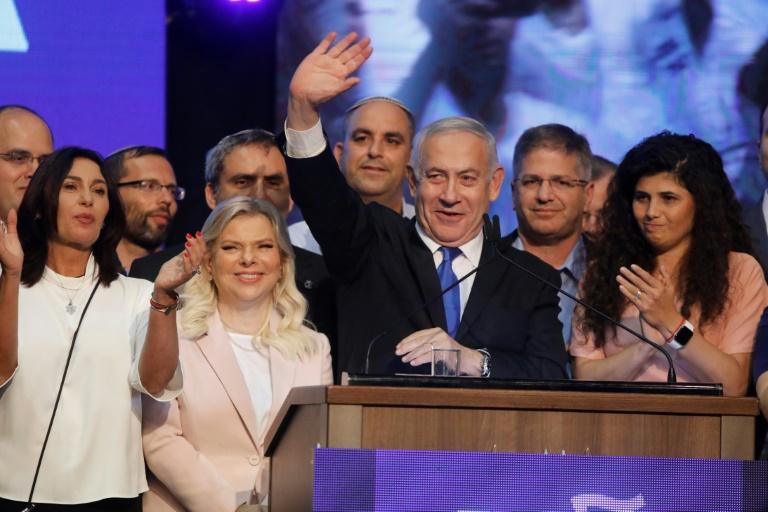 Netanyahus rule threatened by deadlocked Israeli polls