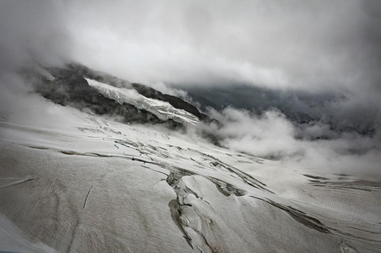 Melting glaciers, as well as ice sheets, raising Earths seas
