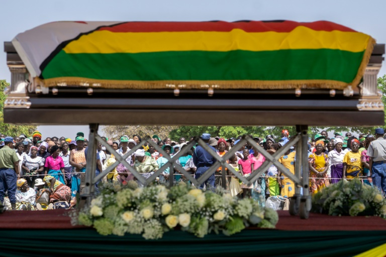 Mugabes body moved to rural home ahead of weekend burial