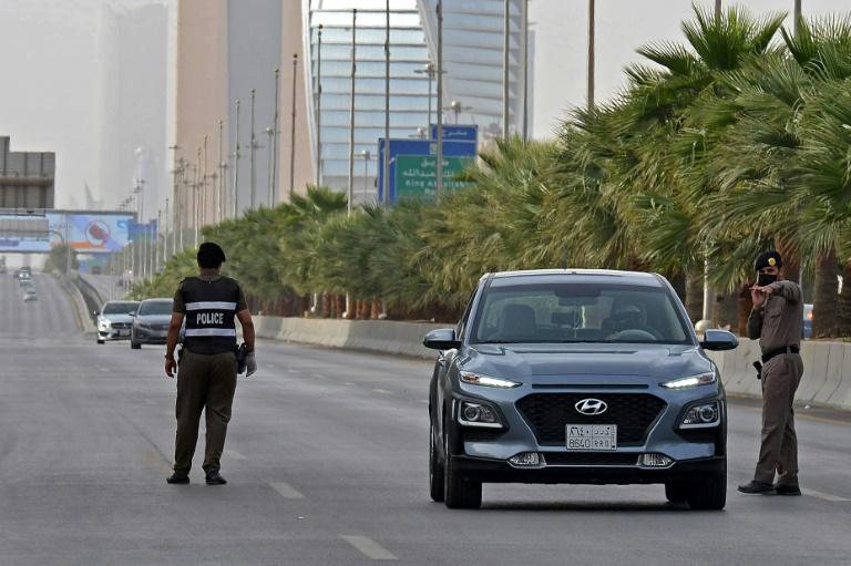 Saudi forces intercept missile over curfew-locked Riyadh