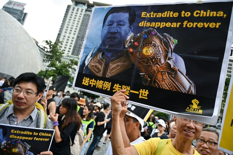 China station next target for Hong Kong protesters as new rally begins