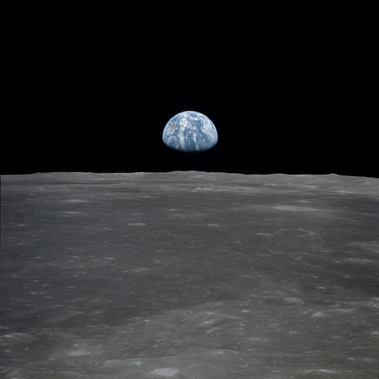 World in my window: Apollo went to Moon so we could see Earth