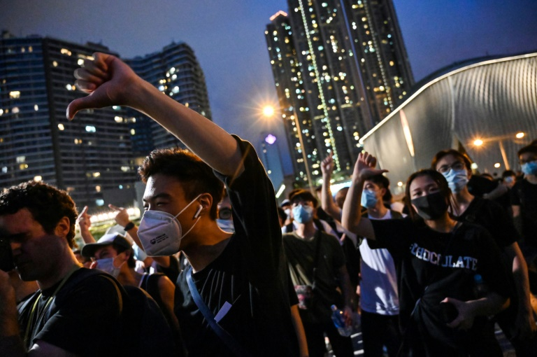 Surge in false online videos of Chinese military crackdown in HK