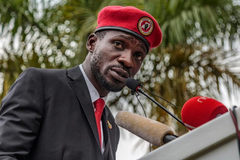 Ugandas Bobi Wine charged with annoying president