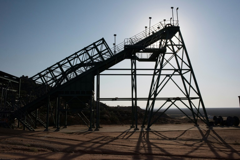 S.Africa rare earths mine hopes for boost from US-China feud