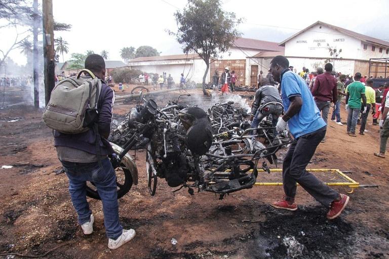 Tanzania lays to rest dozens killed in fuel tanker blast