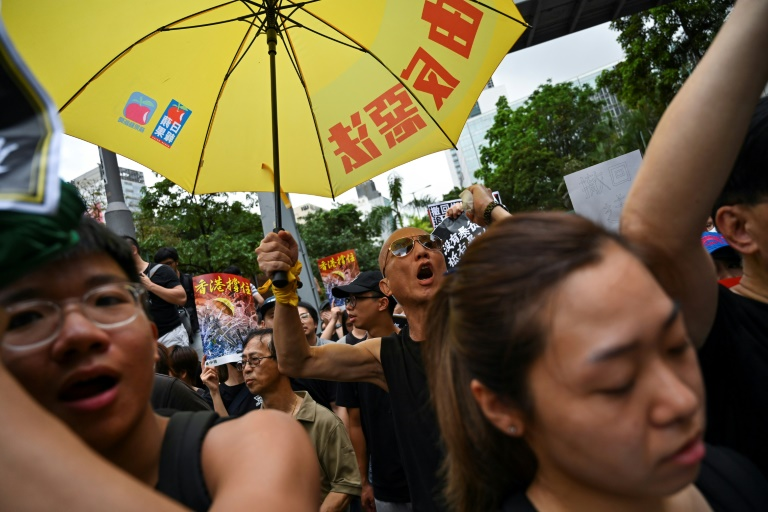 Protesters unmoved as Hong Kong leader says China extradition bill dead