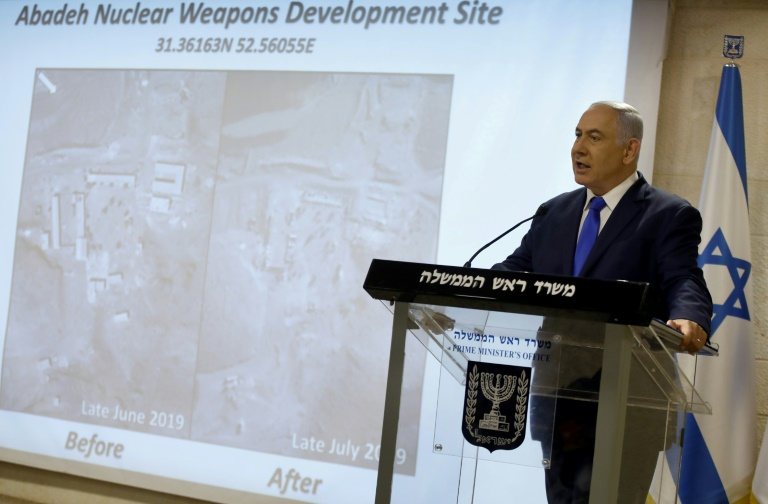 Netanyahu accuses Iran of destroying secret nuclear site