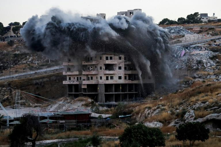 Britain, Germany condemn Israeli demolition of Palestinian homes