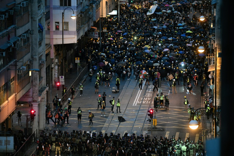More Hong Kong protests planned despite arrests, Chinese warnings