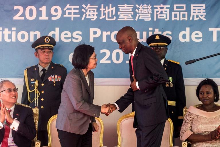 Taiwanese president courts ally Haiti during Caribbean tour