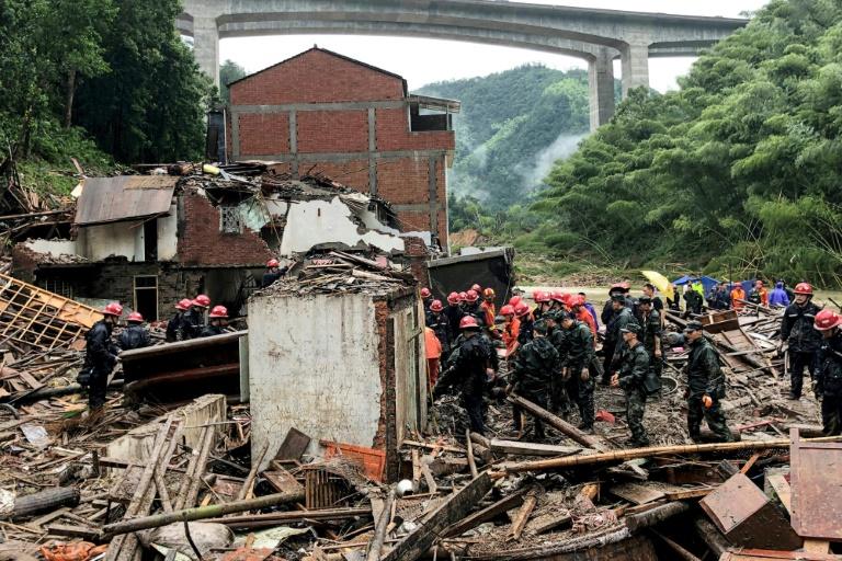 Typhoon Lekima death toll rises to 44 in eastern China