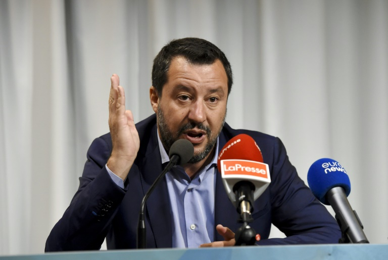 Salvini wants Europe to take migrants from Italy coastguard