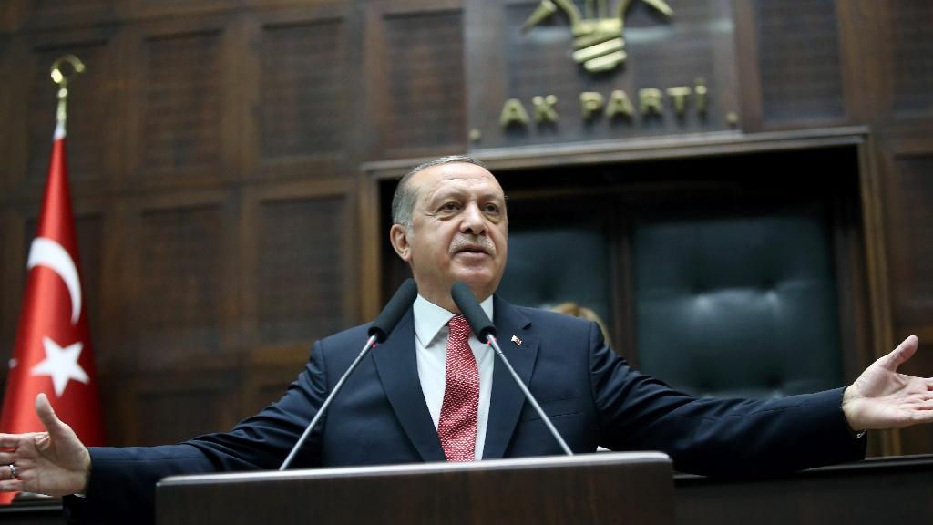 Erdogan says top Turkish general must accept demotion