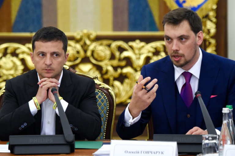 Ukraine president rejects PMs resignation over leaked recording