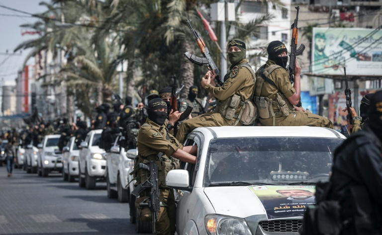 Palestinian Islamic Jihad group buries ex-leader in Damascus