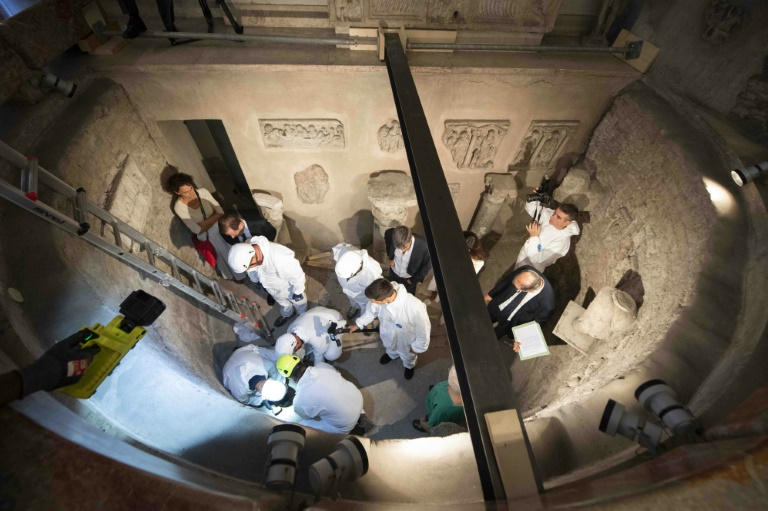 Vatican says no recent bones found in search of ossuary