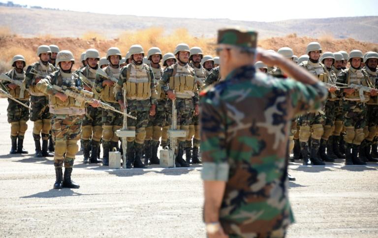 Russian advisers train new Syrian battalion