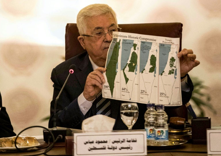 Palestinians cut all ties with Israel, US: Abbas