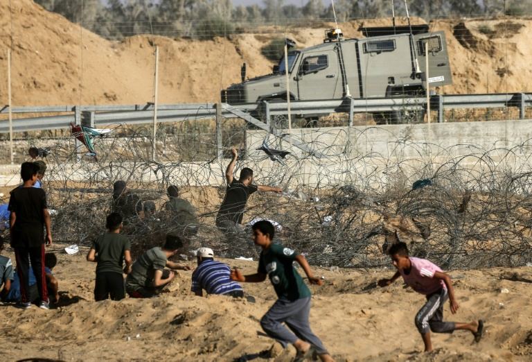 Israel army says killed 4 armed Palestinians on Gaza border