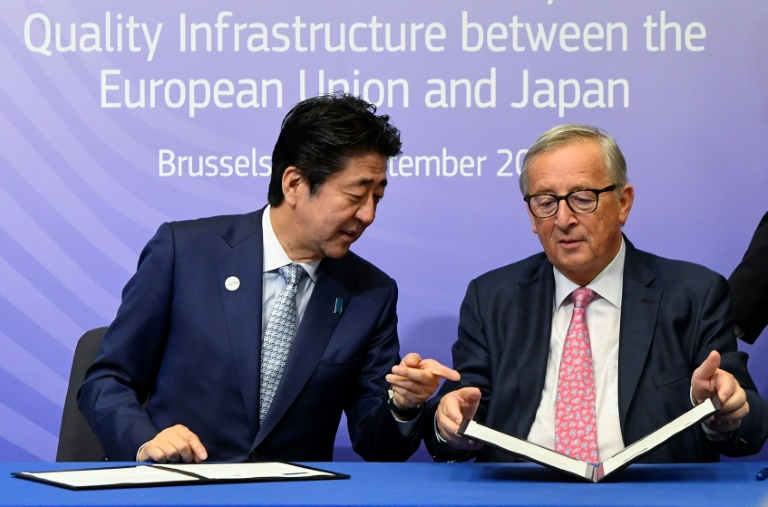 EU and Japan ink plan to bypass Chinas new Silk Road