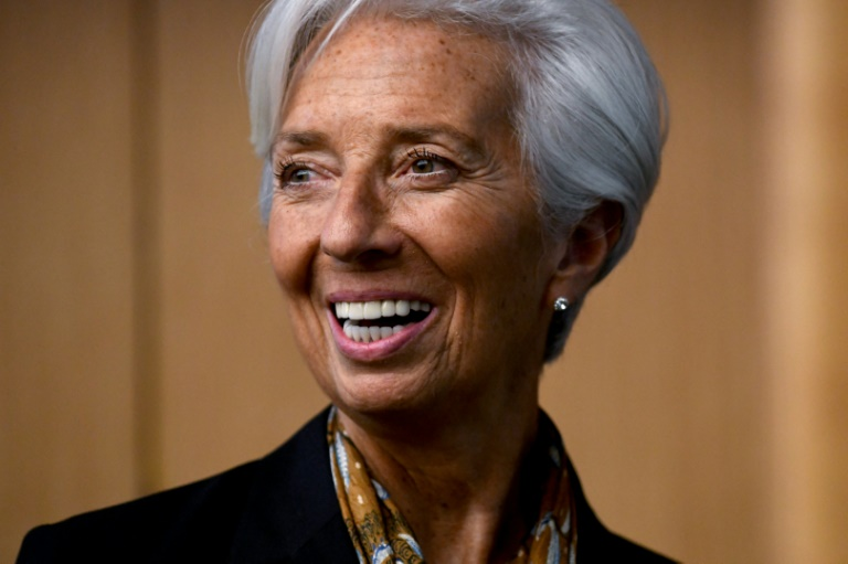 Christine Lagarde continues to break glass ceilings