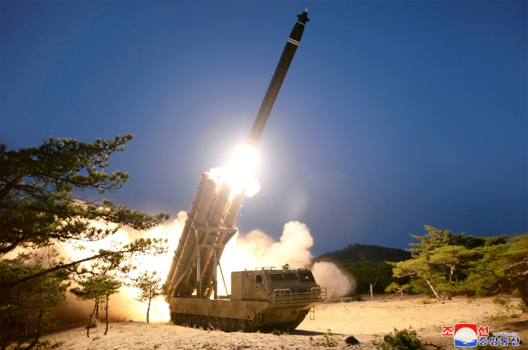 North Korea says tested super-large rocket launchers