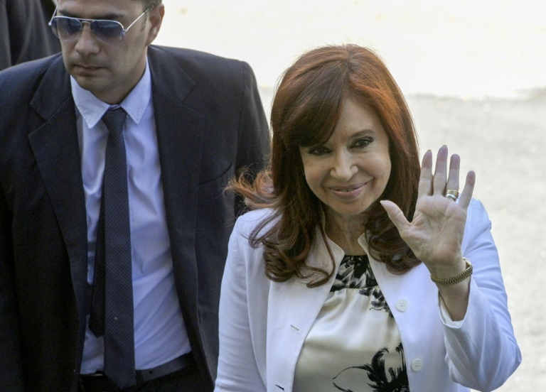 Kirchner in court days before assuming Argentine vice-presidency