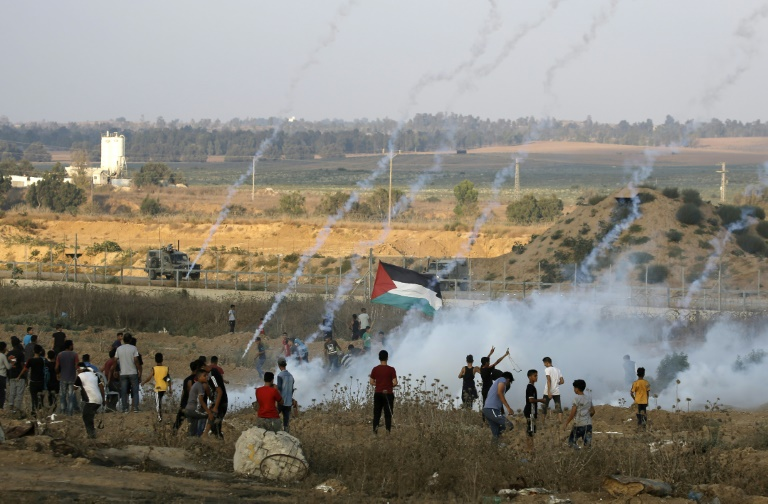 Israeli aircraft strikes Gaza after Palestinian mortar fire