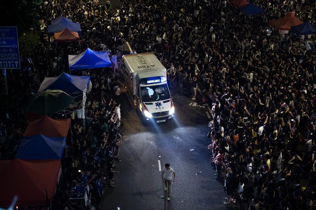 Hong Kong protesters won't stop rallies