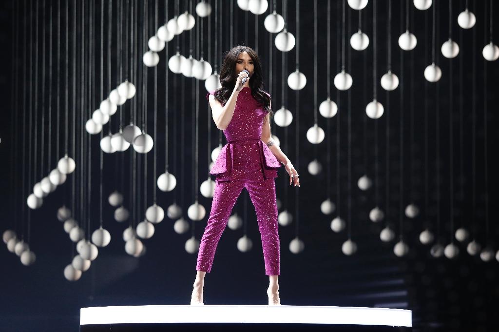 Bearded queen Conchita kicks off Eurovision jamboree