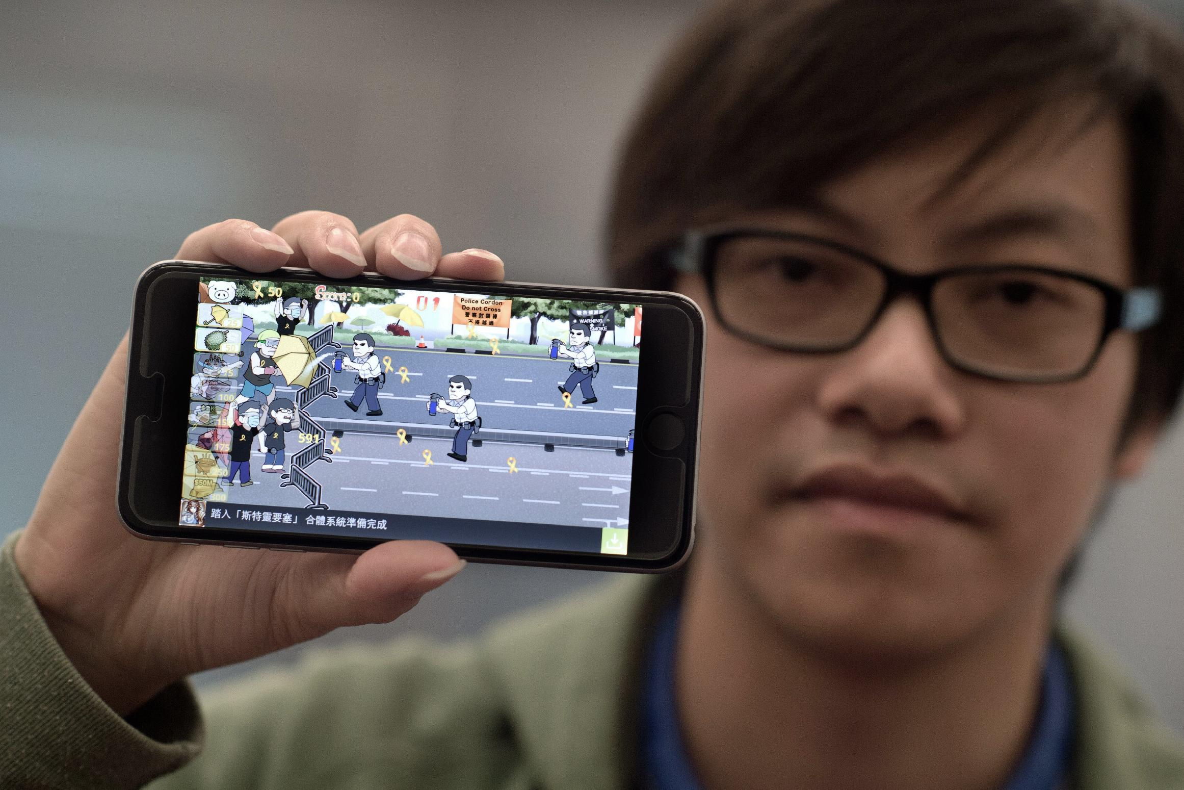 Hong Kong's Umbrella Movement gets computer game makeover