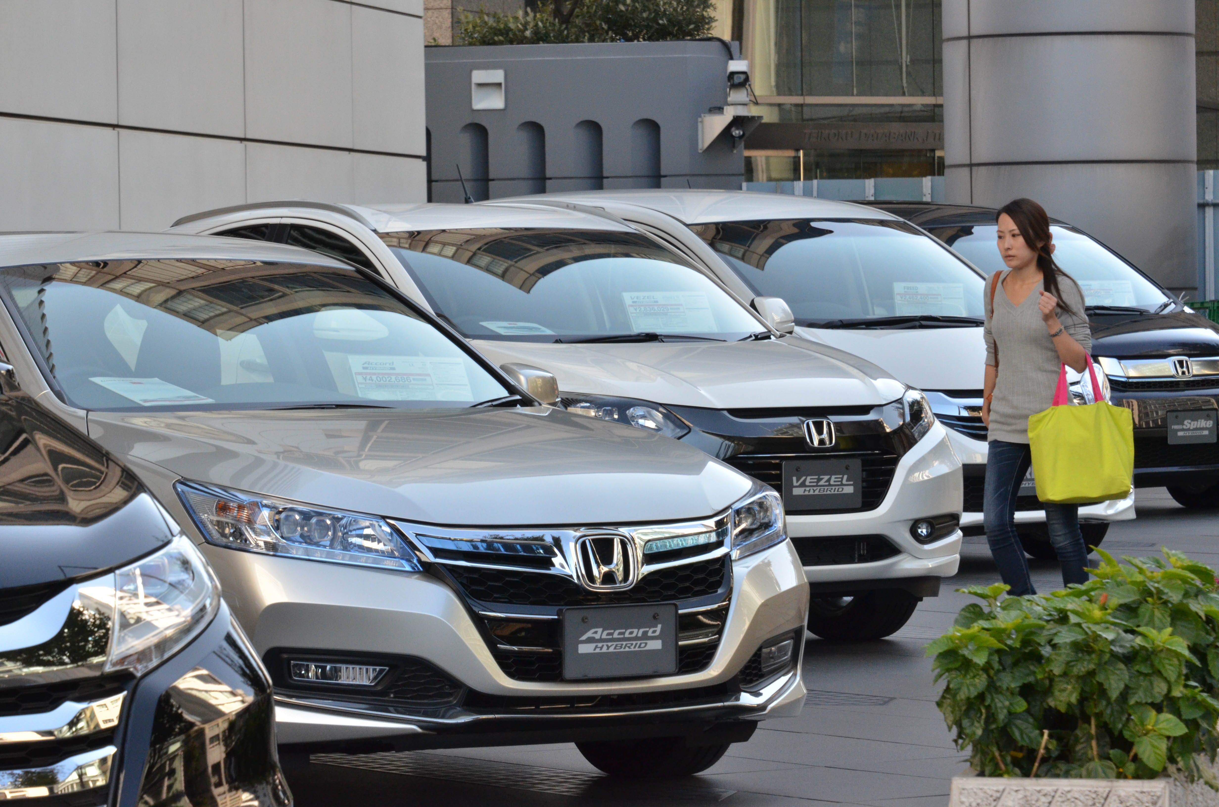 Honda profits up, annual outlook less than rosy