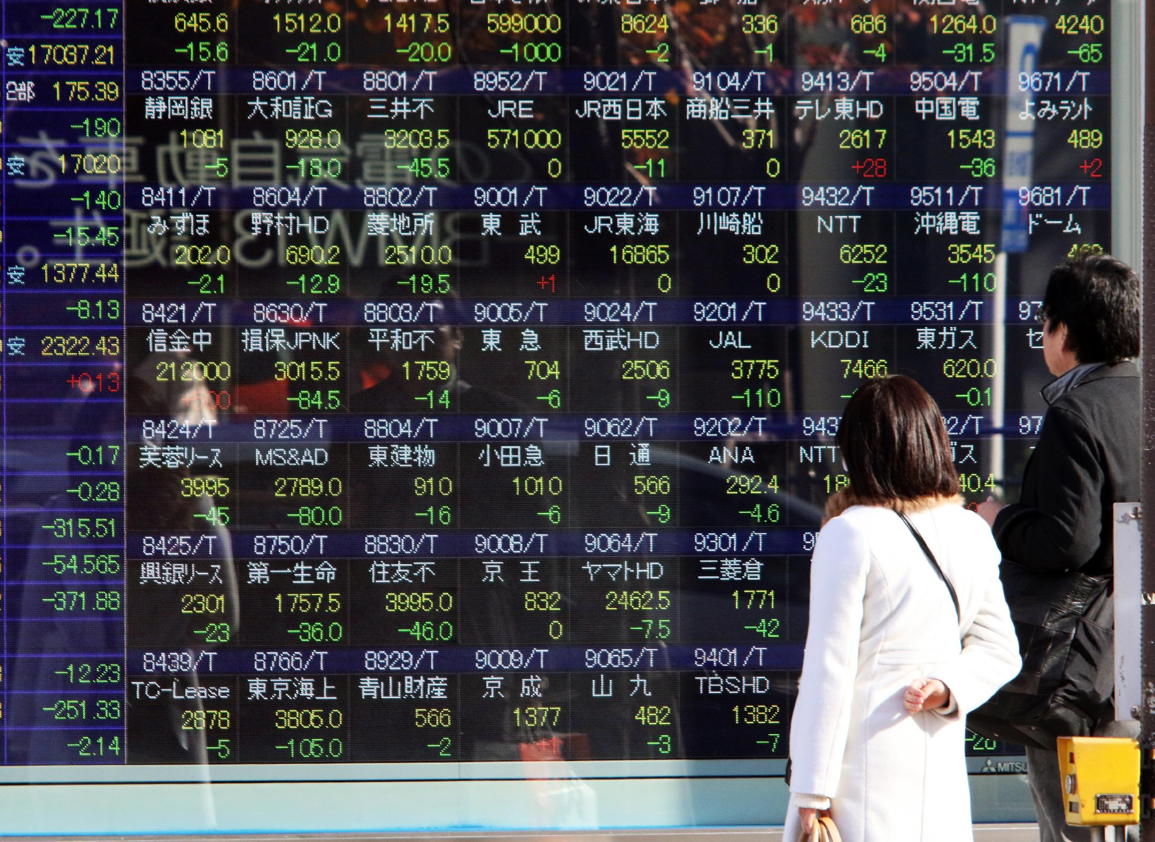 Asian markets mixed ahead of Fed meeting