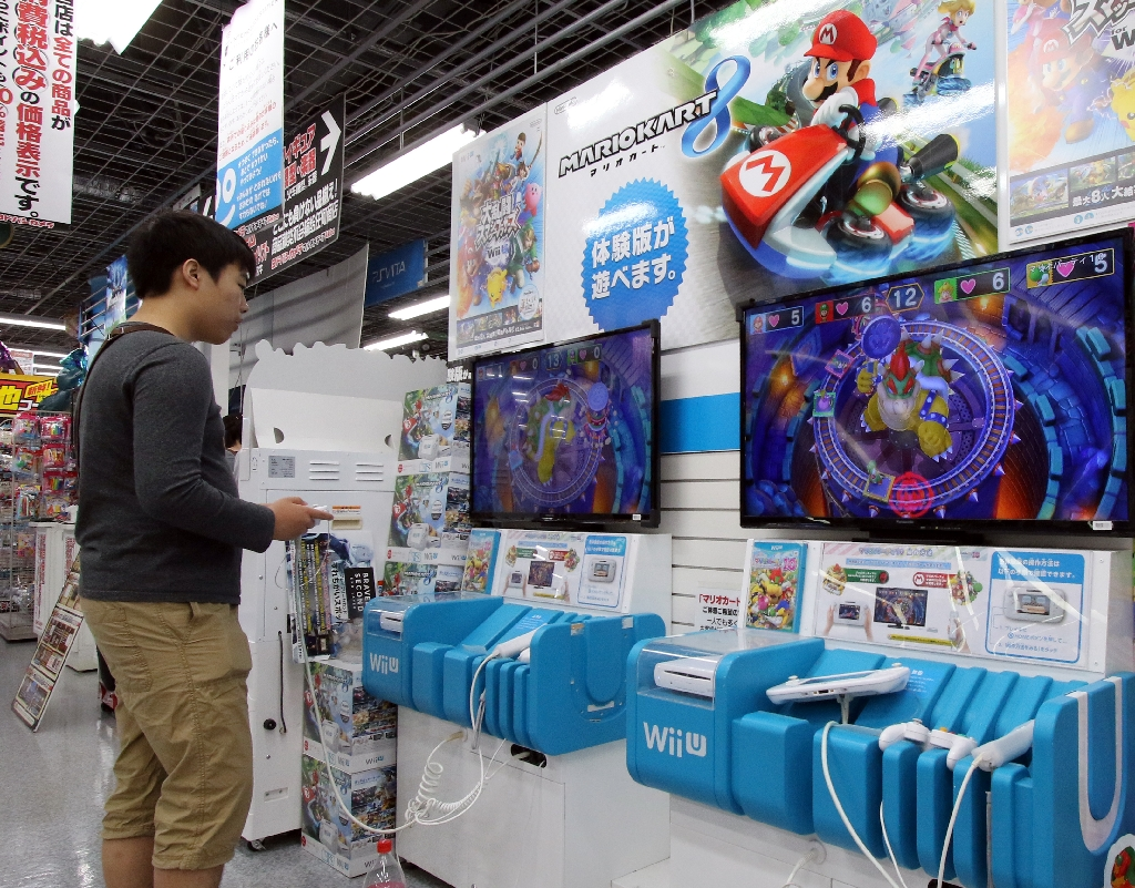 Nintendo says strong demand for Wii U games