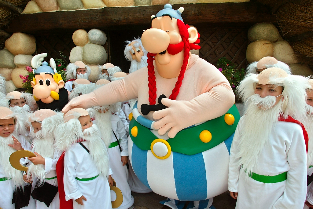 Obelix is the star of new Asterix adventure