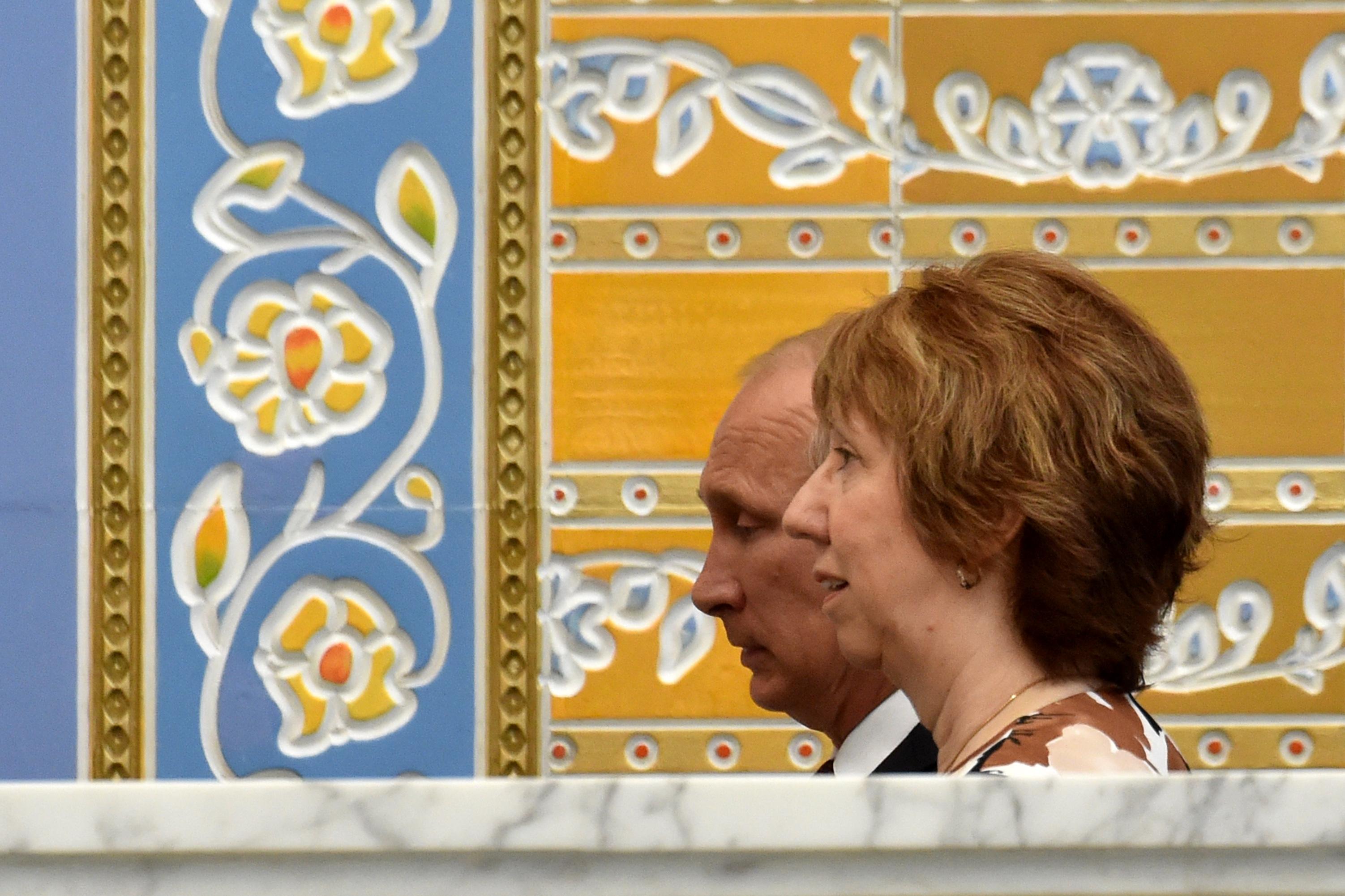 EU urges end to Russia 'aggression' in Ukraine