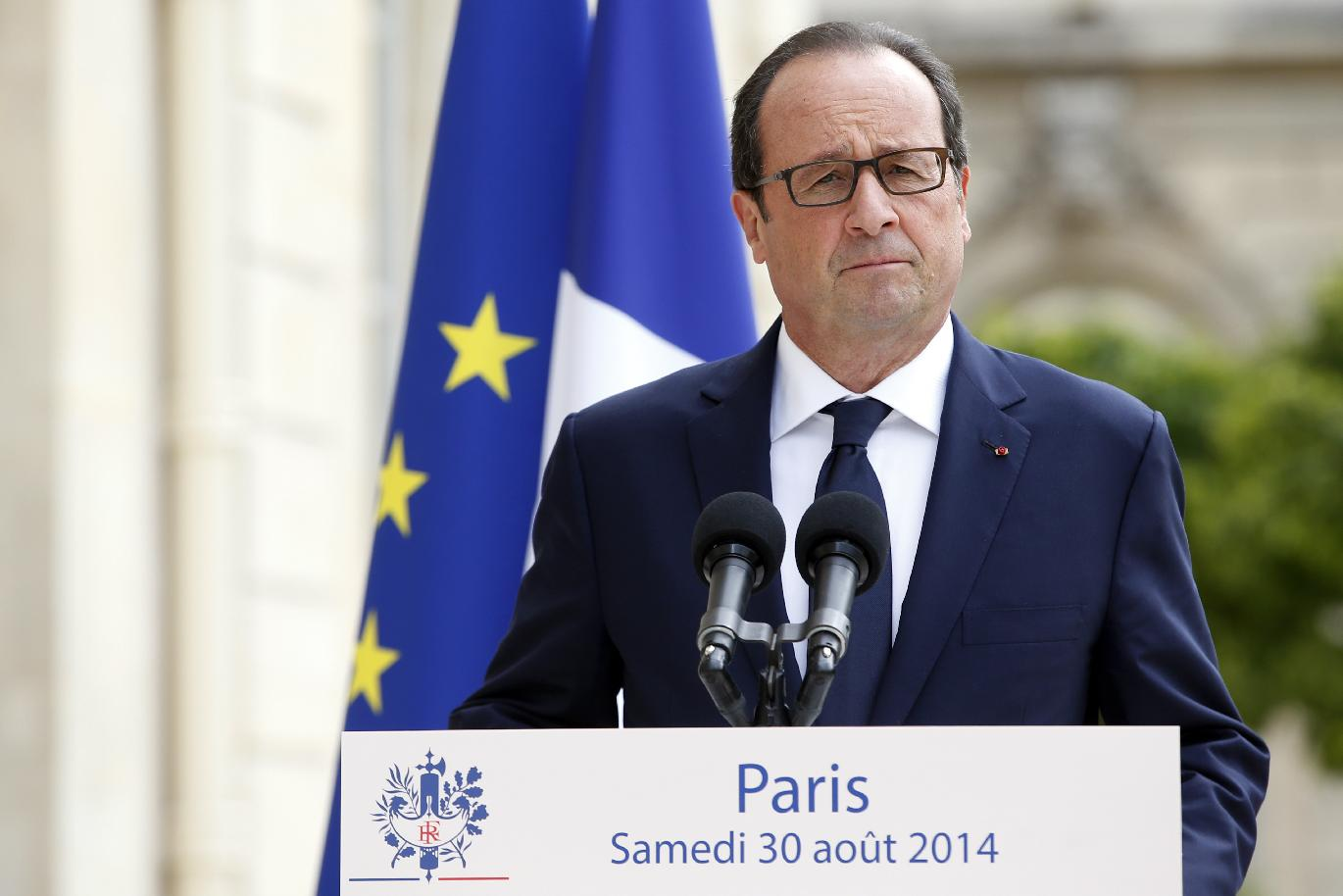 Hollande: EU sanctions on Russia to be 'increased' over Ukraine