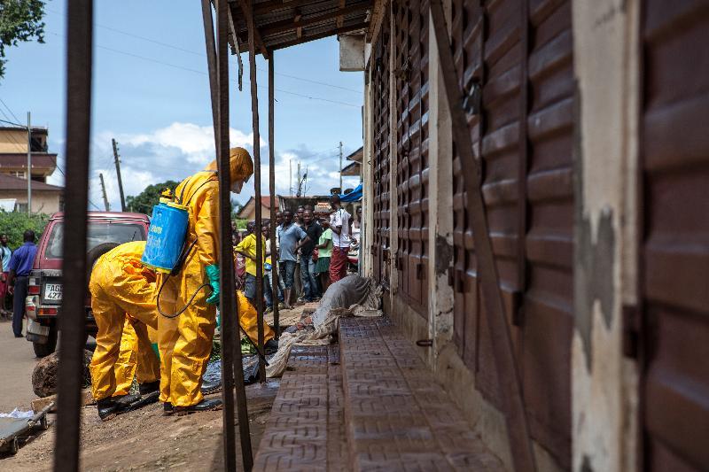 Third UN employee dies from Ebola
