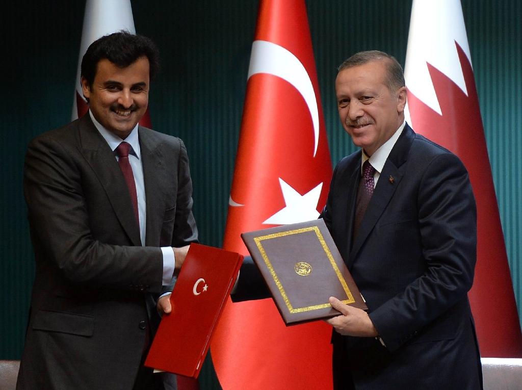 'Teammates' Qatar and Turkey assert post-coup ties