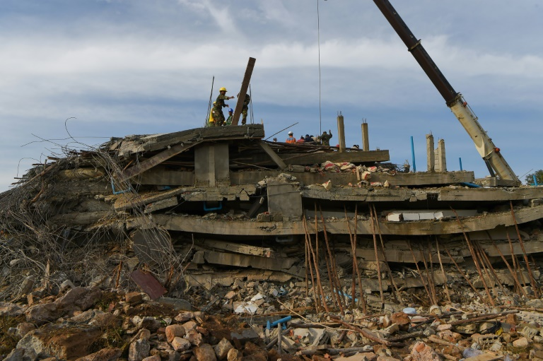 Search for survivors as Cambodia building collapse toll rises to 7