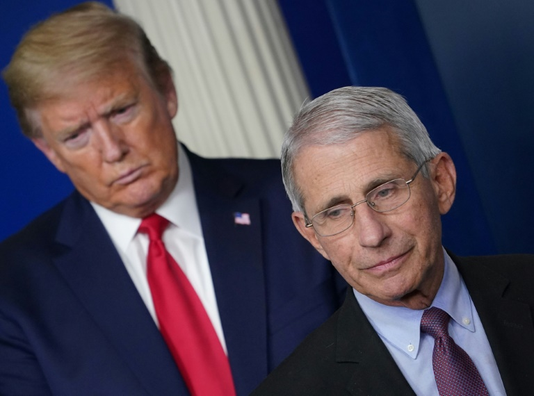 Trump: I disagree with Fauci on COVID-19 in the US